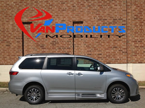 New Wheelchair Van For Sale: 2020 Toyota Sienna XLE Wheelchair Accessible Van For Sale with a  on it. VIN: 5TDYZ3DCXLS040439