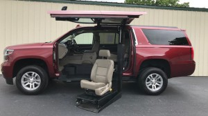 Used Wheelchair Van For Sale: 2016 Chevrolet Suburban LT Wheelchair Accessible Van For Sale with a ATC Wheelchair Truck Conversions - Chevy, GMC & Cadalliac Suv's on it. VIN: 1GN3CHKC8GR156306