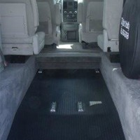 lowred floor rear entry dodge hanicap van by triple s mobility