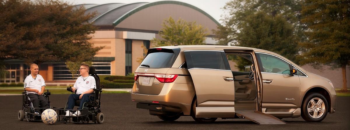 Banner For: BraunAbility Honda Entervan II
