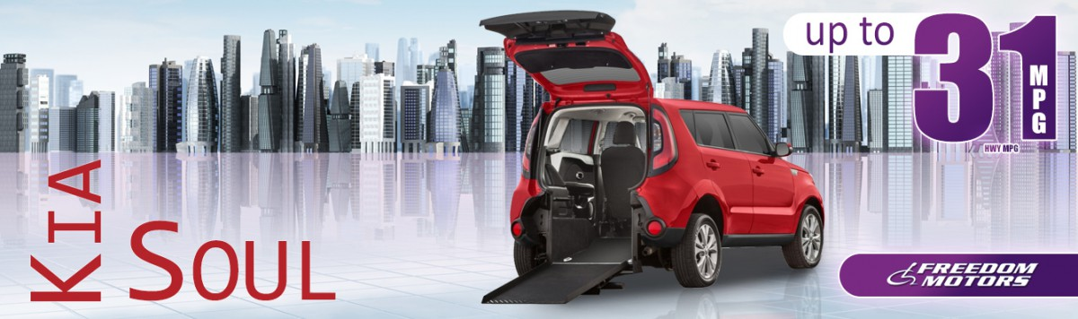Banner For: Freedom Motors Kia Soul Wheelchair Accessible