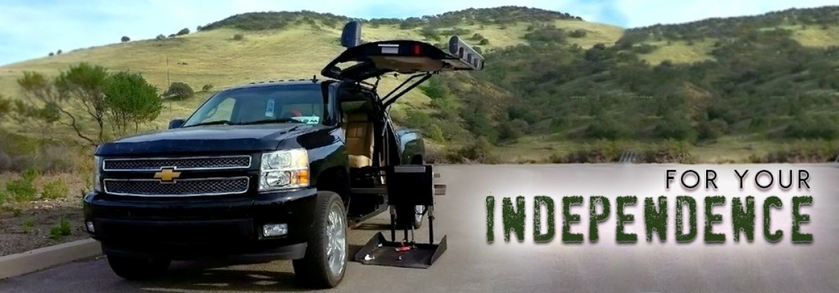 Banner For: ATC Wheelchair Truck Conversions 1500 Chevy & GMC Trucks