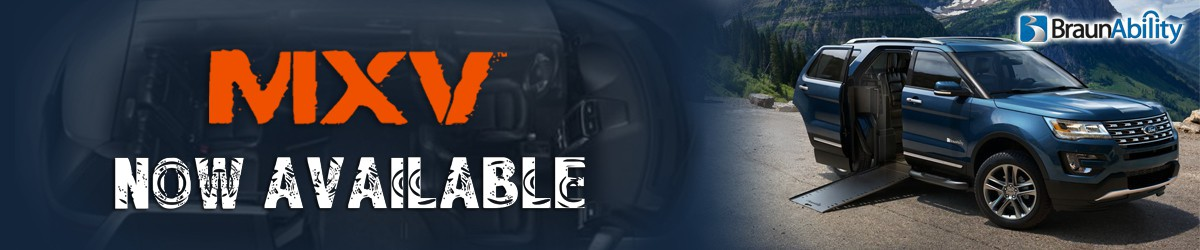 Banner For: BraunAbility MXV Wheelchair SUV