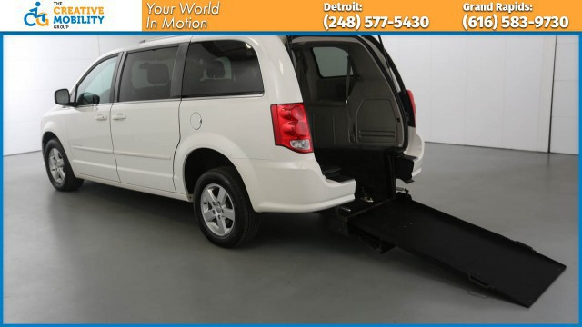 2011 Dodge Grand Caravan Wheelchair Van For Sale Freedom