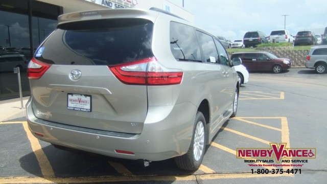 2016 Toyota Sienna Wheelchair Van For Sale Braunability